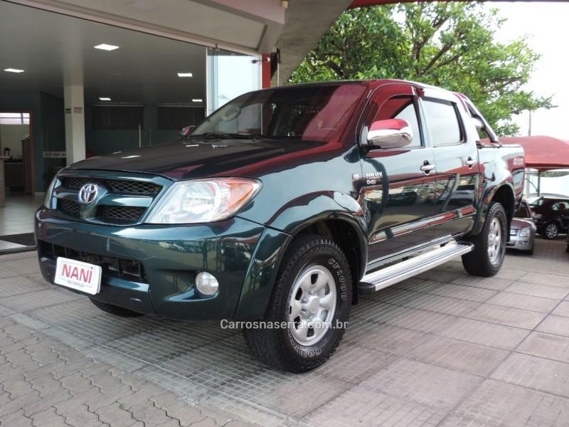 hilux 2.5 4x4 cd 16v turbo diesel 4p manual 2006 ivoti