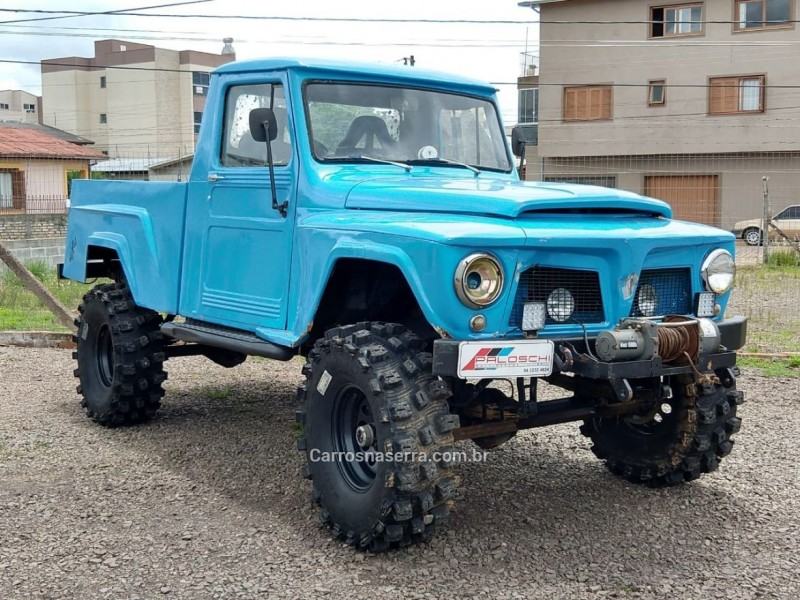 jeep 1970 vacaria