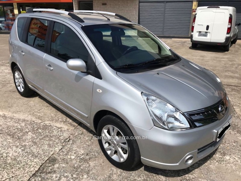 livina 1.6 s 16v flex 4p manual 2014 caxias do sul
