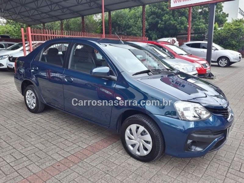 etios 1.5 xs sedan 16v flex 4p automatico 2018 dois irmaos