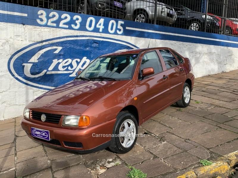 polo 1.8 mi classic special sedan 8v gasolina 4p manual 1999 caxias do sul