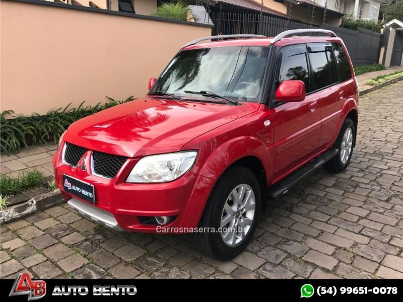 pajero tr4 2.0 4x2 16v 140cv flex 4p automatico 2012 bento goncalves