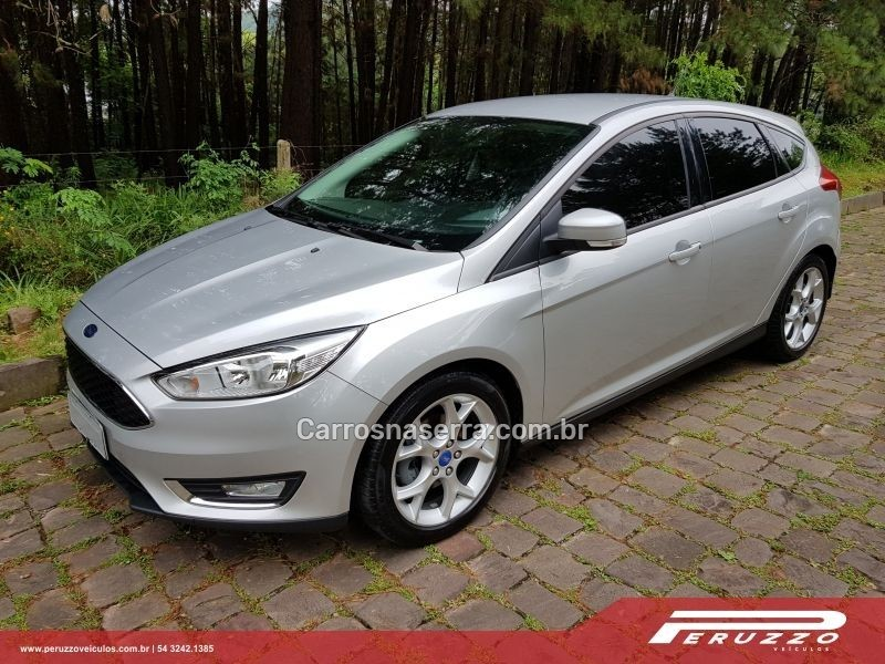 focus 2.0 se 16v flex 4p powershift 2016 nova prata
