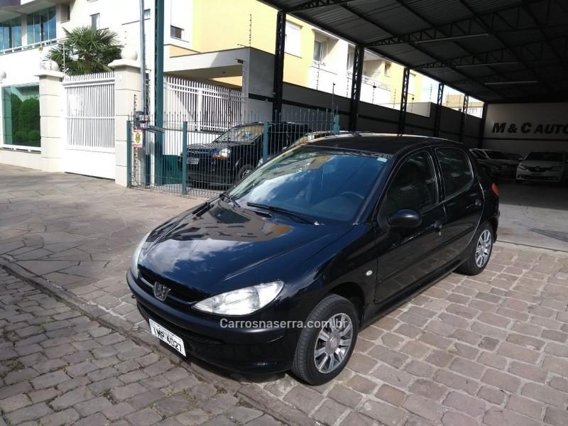 206 1.0 sensation 16v gasolina 4p manual 2006 caxias do sul