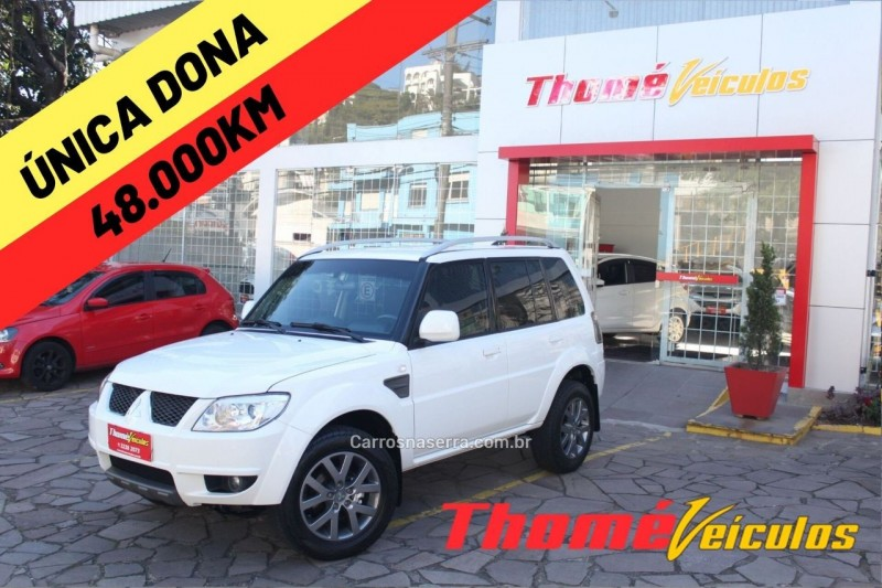 pajero tr4 2.0 4x2 16v 140cv flex 4p manual 2015 caxias do sul