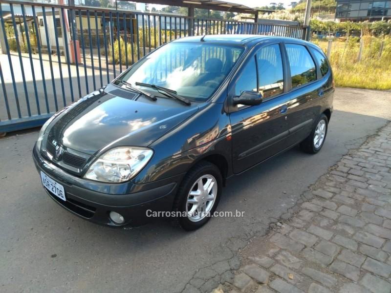 scenic 2.0 rxe 16v gasolina 4p manual 2003 caxias do sul