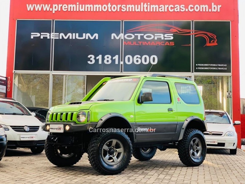 jimny 1.3 4sport 4x4 16v gasolina 2p manual 2013 estancia velha