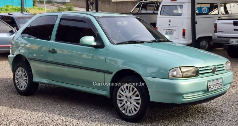 gol 1.8 cli 8v gasolina 2p manual 1995 caxias do sul
