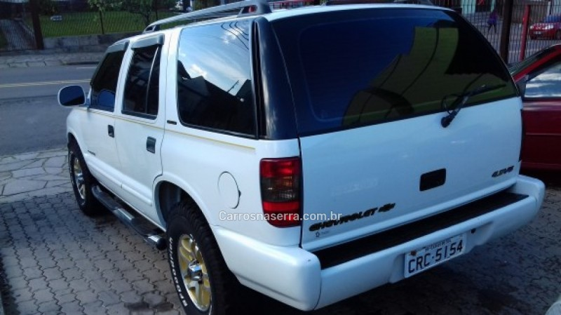 blazer 4.3 sfi dlx executive 4x2 v6 12v gasolina 4p automatico 1999 caxias do sul