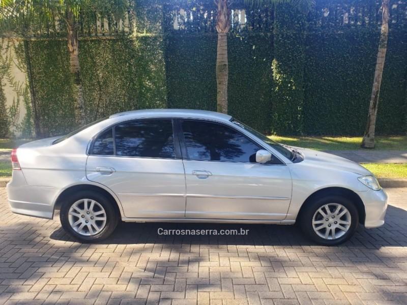civic 1.7 lx 16v gasolina 4p automatico 2004 caxias do sul