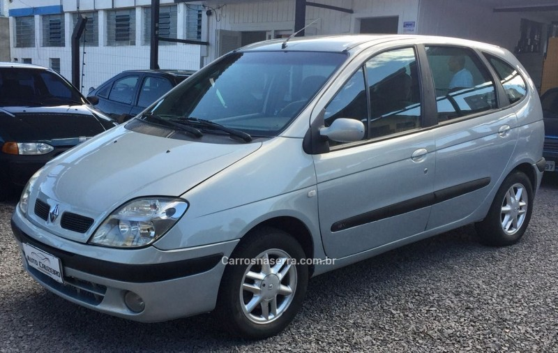 scenic 1.6 privilege 16v gasolina 4p manual 2004 caxias do sul