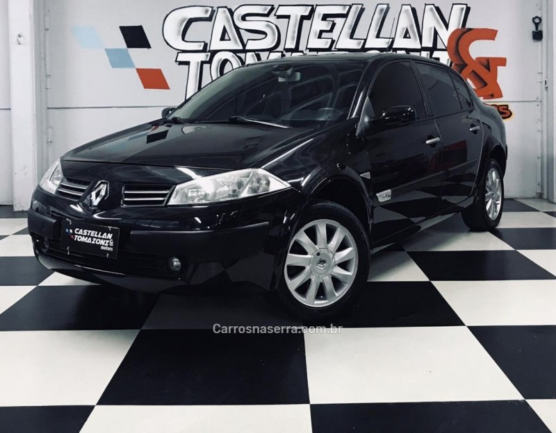 megane 1.6 dynamique 16v flex 4p manual 2011 caxias do sul