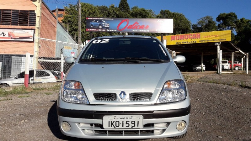 scenic 2.0 rxe 16v gasolina 4p manual 2002 caxias do sul