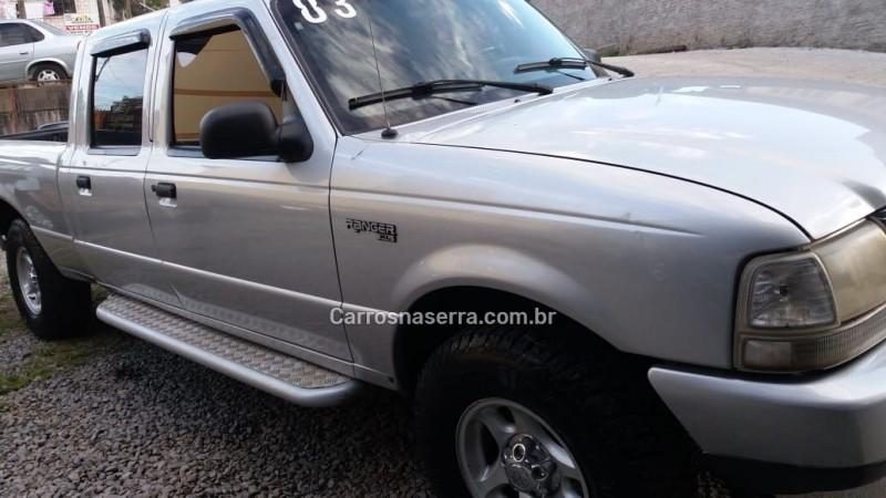 ranger 2.8 xl 4x4 cd 8v turbo intercooler diesel 4p manual 2003 caxias do sul