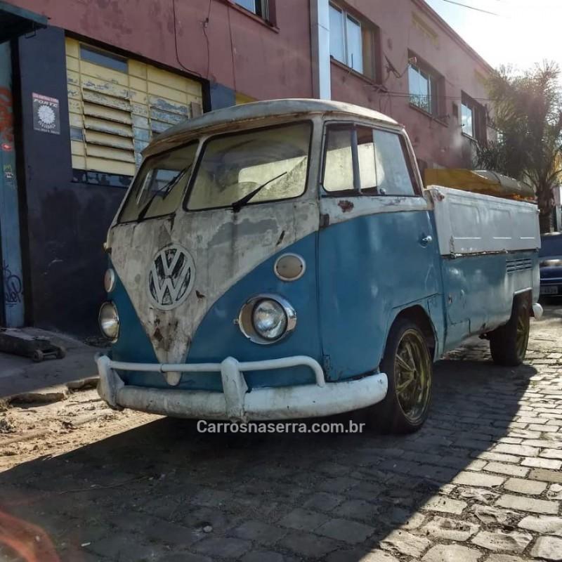 kombi 1.6 pick up cs 8v gasolina 2p manual 1972 caxias do sul