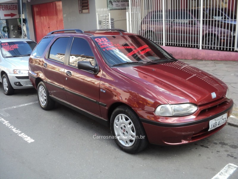palio 1.5 mpi elx weekend 8v gasolina 4p manual 1998 caxias do sul