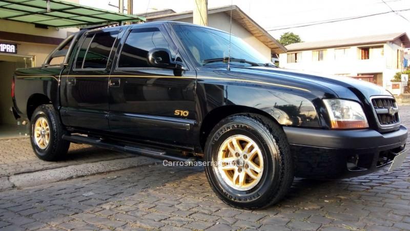s10 2.8 executive 4x4 cd 12v turbo intercooler diesel 4p manual 2002 caxias do sul