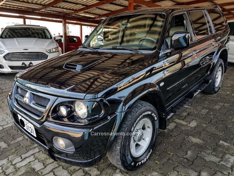 pajero sport 2.8 hpe 4x4 8v turbo intercooler diesel 4p automatico 2005 farroupilha