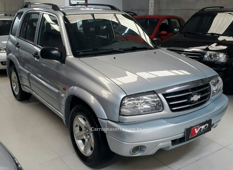 tracker 2.0 4x4 16v gasolina 4p manual 2009 caxias do sul