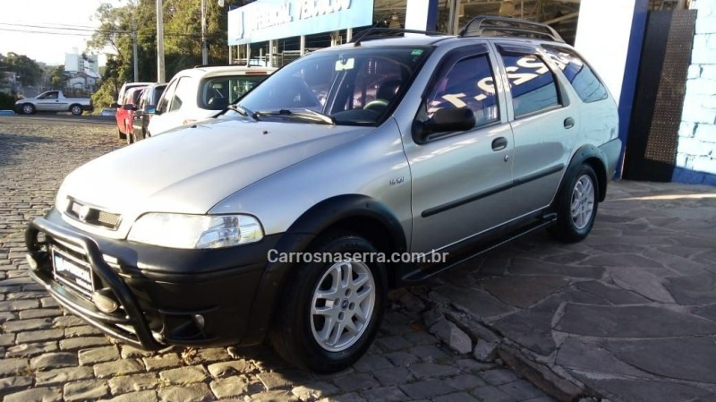 palio 1.6 mpi adventure weekend 16v gasolina 4p manual 2002 caxias do sul