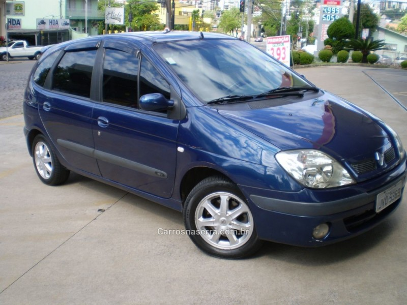 scenic 1.6 rxe 16v gasolina 4p manual 2005 caxias do sul