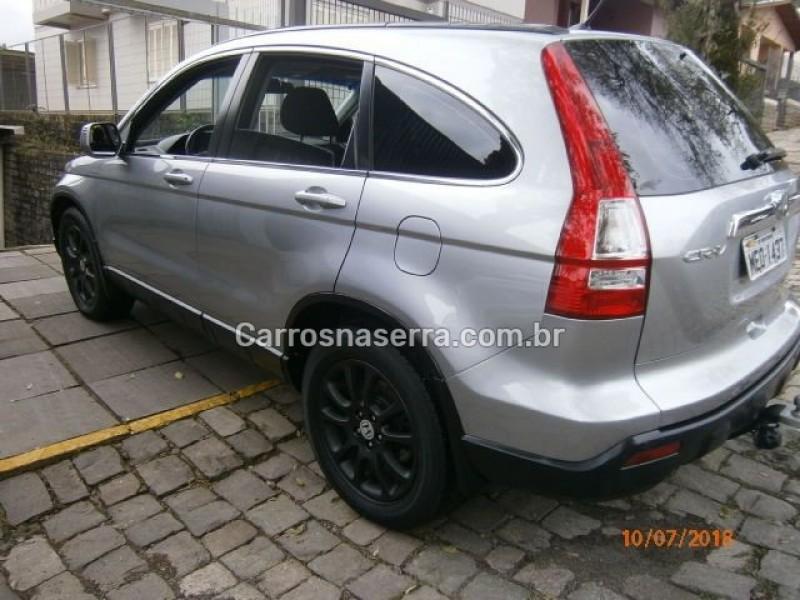 crv 2.0 ex 4x4 16v gasolina 4p automatico 2007 nova prata
