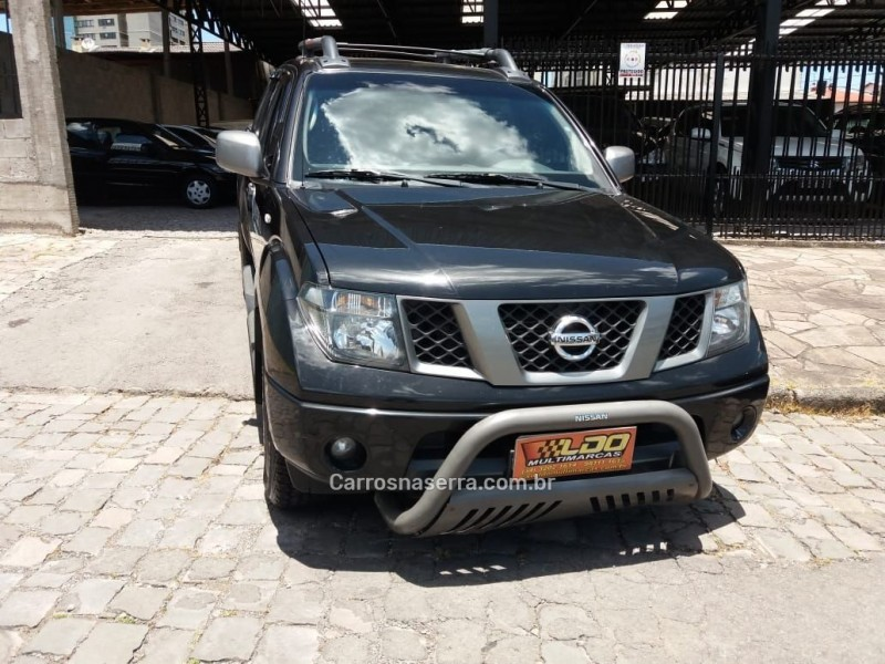 frontier 2.8 se 4x2 cd turbo eletronic diesel 4p manual 2013 caxias do sul