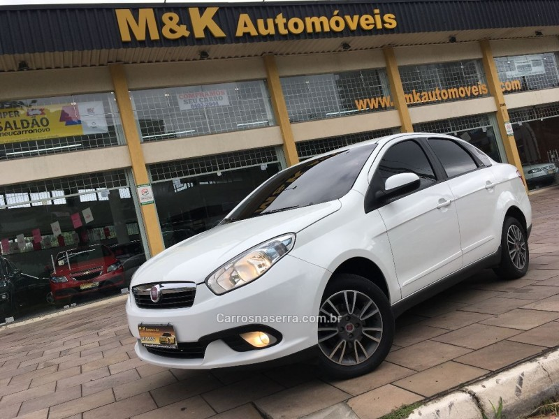 siena 1.4 mpi attractive 8v flex 4p manual 2015 caxias do sul