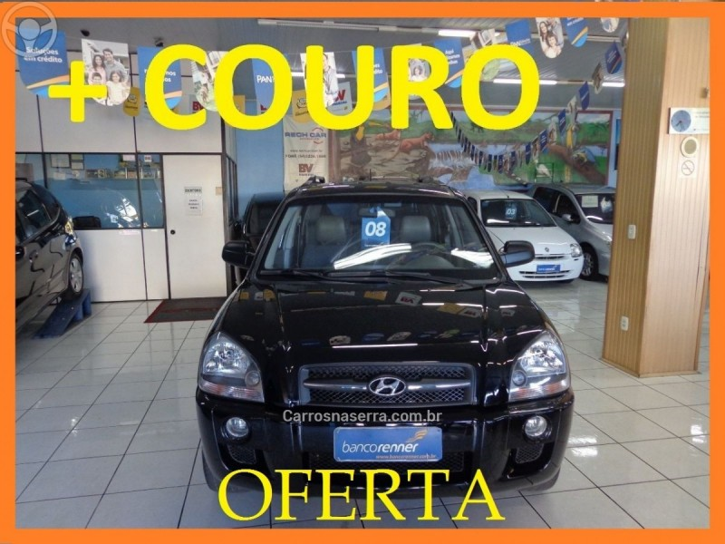 tucson 2.0 gl 2wd 16v gasolina 4p manual 2008 caxias do sul