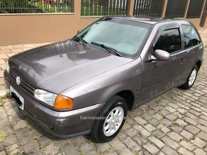 gol 1.0 mi 8v gasolina 2p manual 1997 carlos barbosa