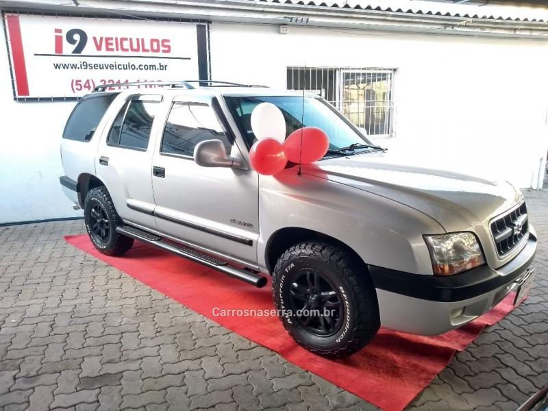 blazer 2.4 mpfi 4x2 8v gasolina 4p manual 2003 caxias do sul
