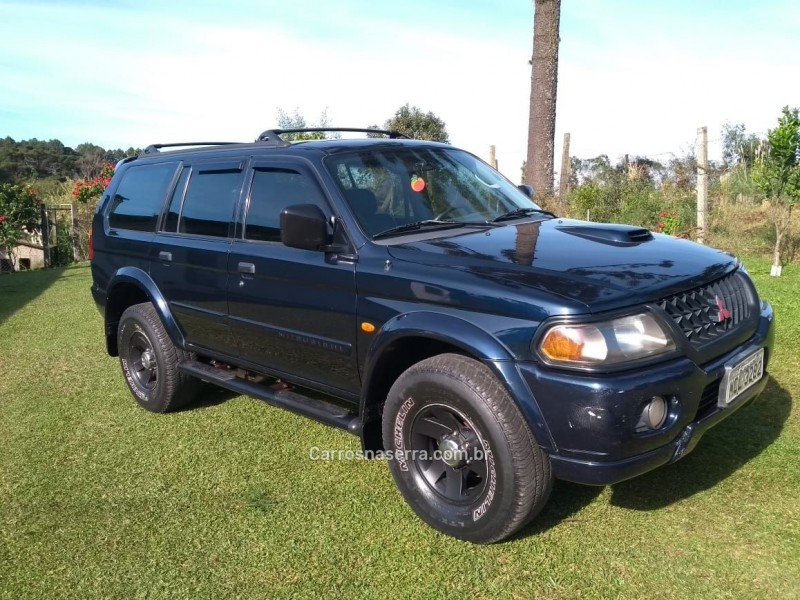 pajero 2.8 gls 4x4 8v turbo diesel 4p automatico 2002 flores da cunha