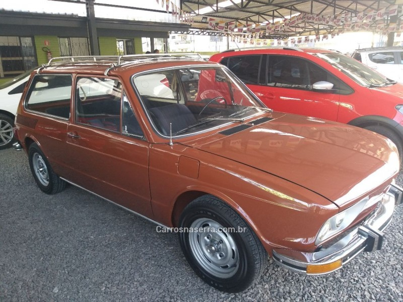 brasilia 1.6 8v gasolina 2p manual 1975 caxias do sul