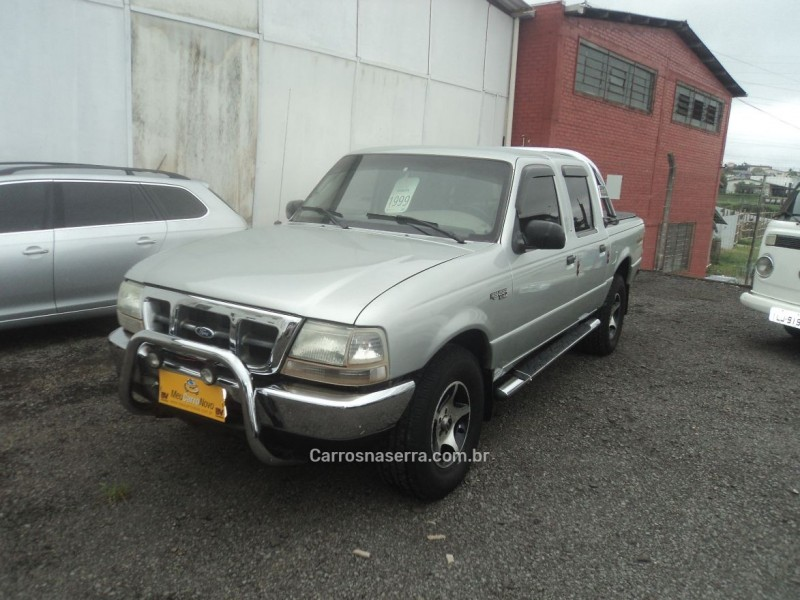 ranger 2.5 xlt 4x4 cd 8v turbo intercooler diesel 4p manual 1999 farroupilha