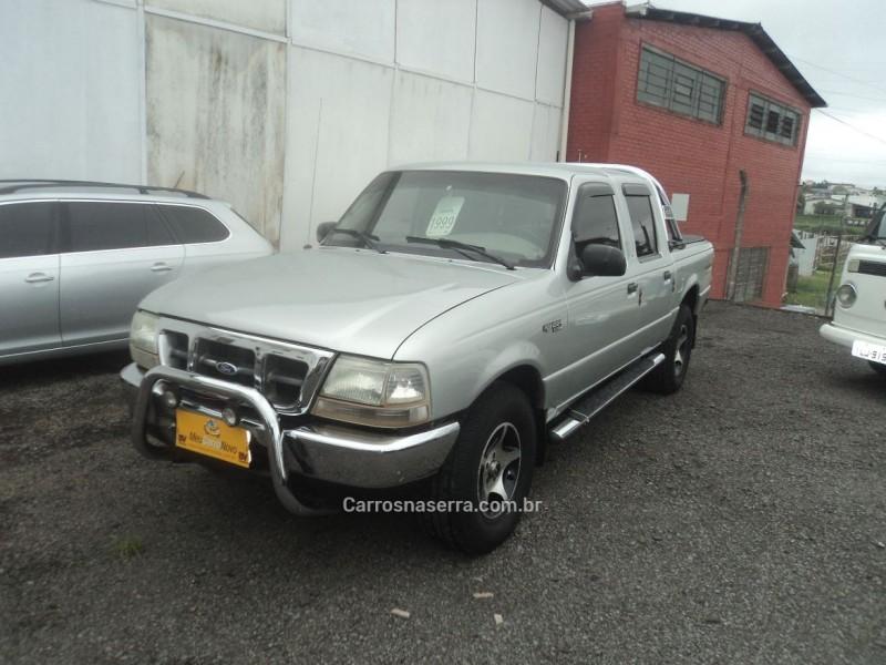 ranger 2.5 xlt 4x4 cd 8v turbo intercooler diesel 4p manual 1999 farroupilha