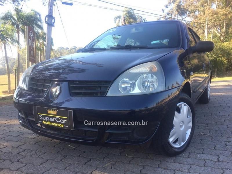 CLIO 1.0 AUTHENTIQUE 16V FLEX 4P MANUAL - 2006 - CAXIAS DO SUL