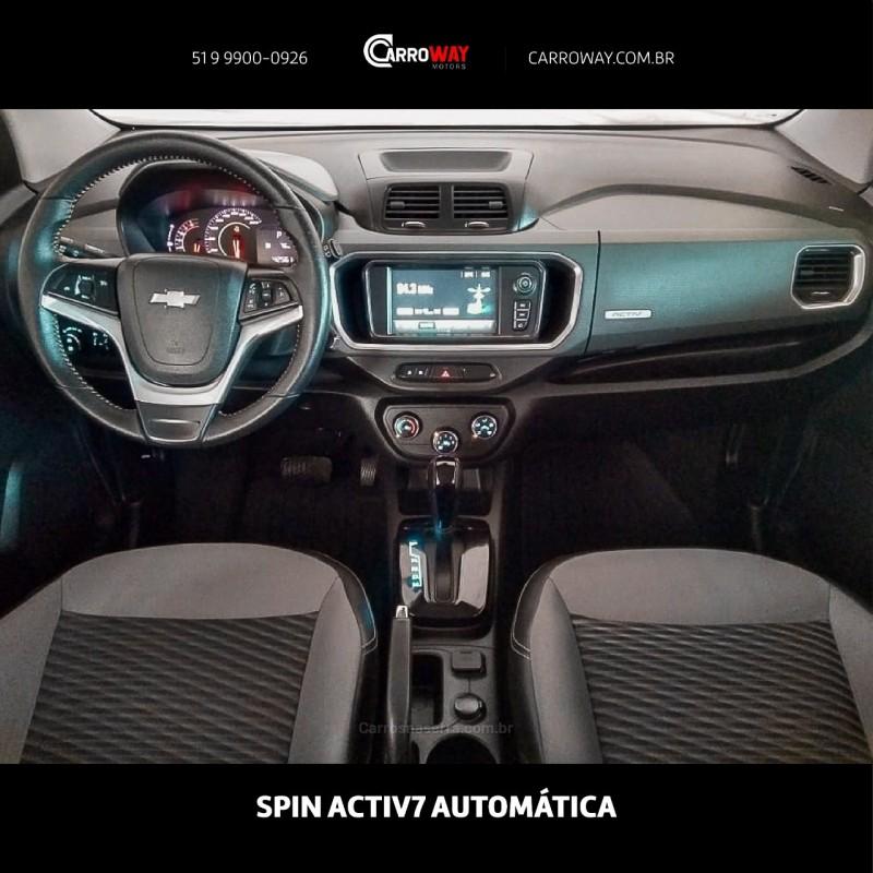 SPIN 1.8 ACTIV 8V FLEX 4P AUTOMÁTICO - 2019 - FELIZ