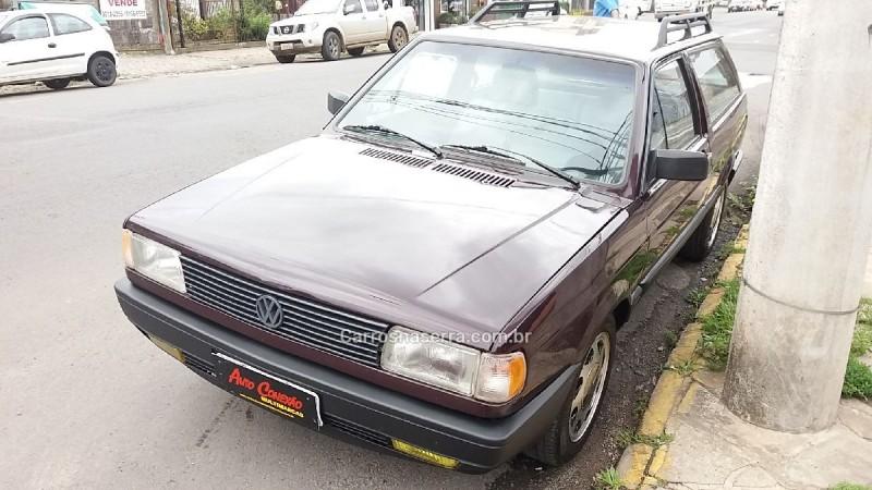 parati 1.6 cl 8v gasolina 2p manual 1992 caxias do sul