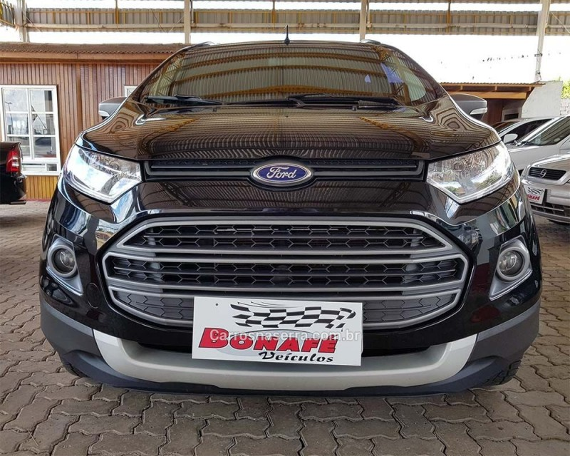 ECOSPORT 1.6 FREESTYLE 16V FLEX 4P MANUAL - 2015 - CASCA