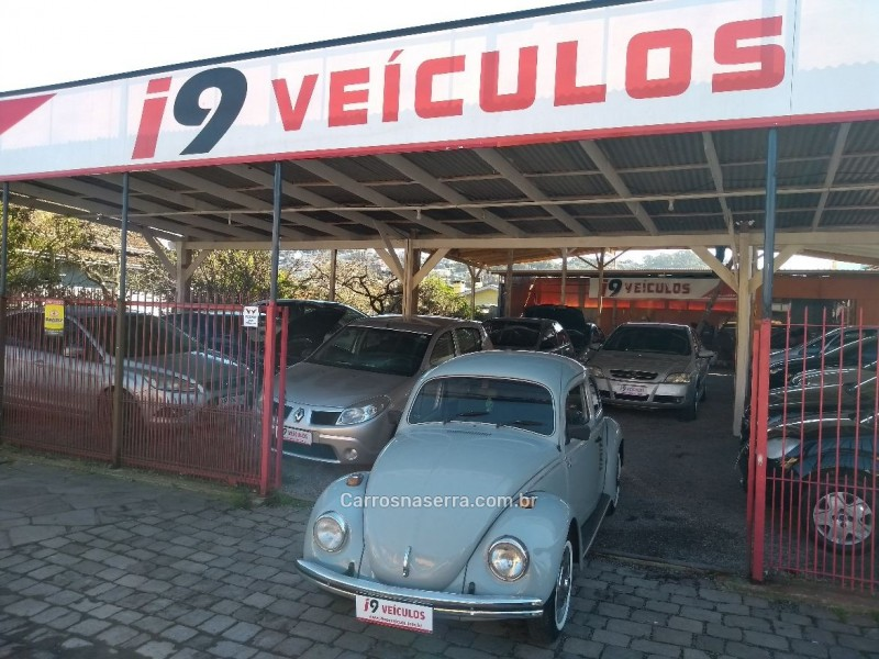 fusca 1.3 l 8v gasolina 2p manual 1985 caxias do sul