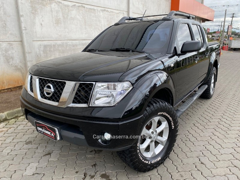 frontier 2.5 le 4x4 cd turbo eletronic diesel 4p automatico 2007 taquara