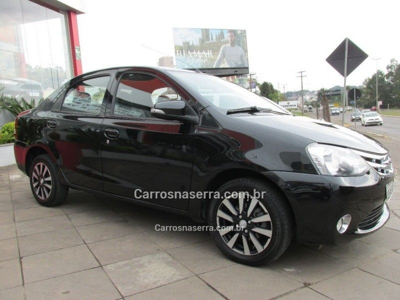 etios 1.5 platinum sedan 16v flex 4p manual 2016 bento goncalves