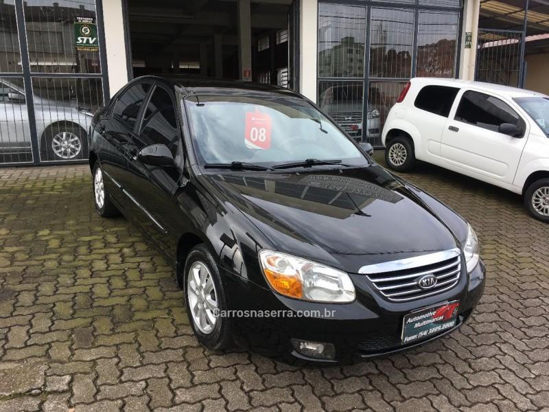 cerato 1.6 ex3 sedan 16v gasolina 4p automatico 2008 caxias do sul