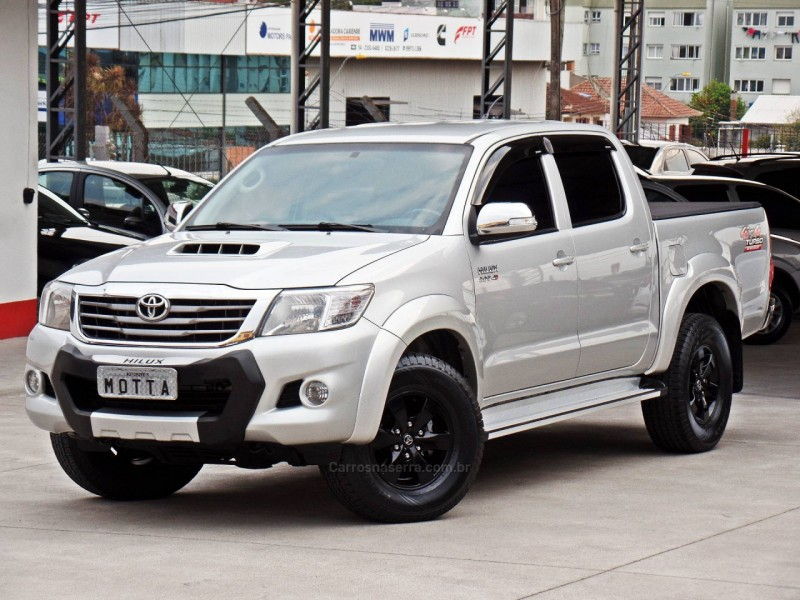 hilux 3.0 srv 4x4 cd 16v turbo intercooler diesel 4p automatico 2013 caxias do sul