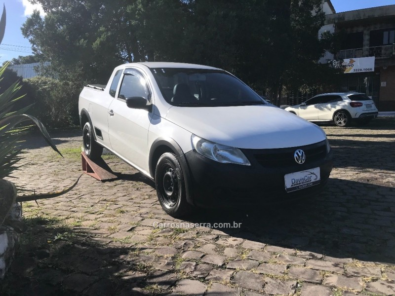 saveiro 1.6 mi ce 8v flex 2p manual g.v 2011 caxias do sul