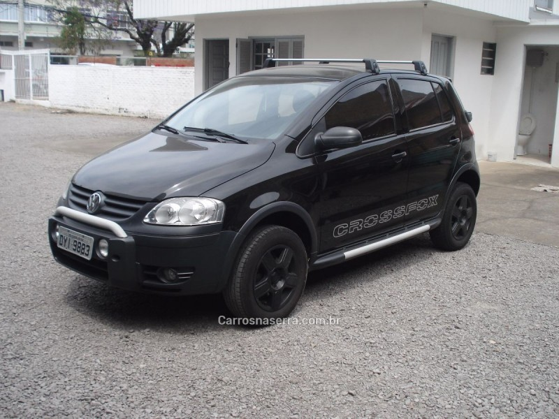 crossfox 1.6 mi flex 8v 4p manual 2007 caxias do sul