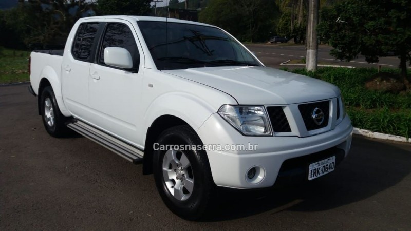 frontier 2.5 se 4x2 cd turbo eletronic diesel 4p manual 2011 picada cafe