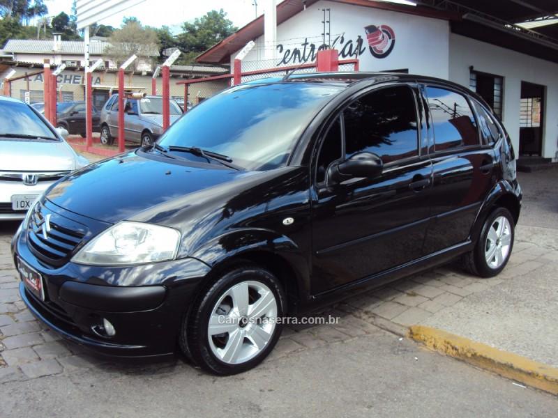 c3 1.4 i glx 8v gasolina 4p manual 2007 caxias do sul