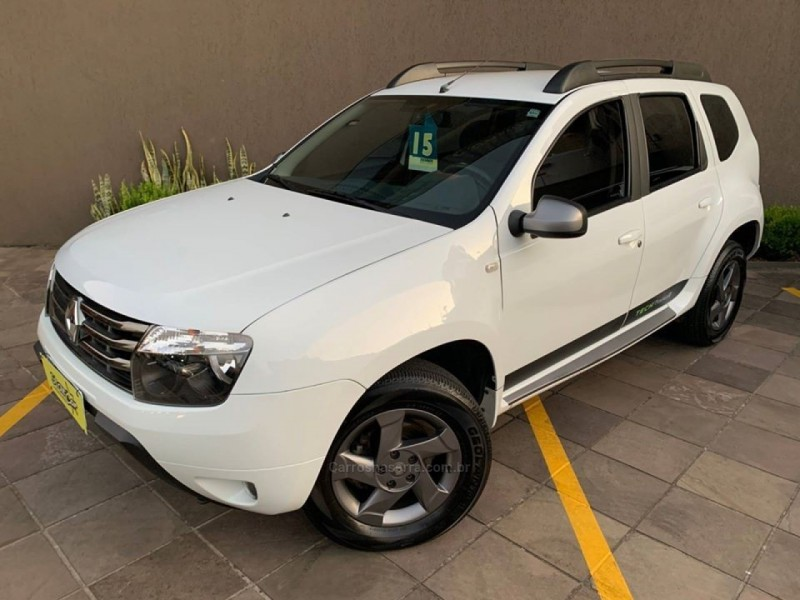duster 2.0 tech road ii 4x2 16v flex 4p automatico 2015 caxias do sul