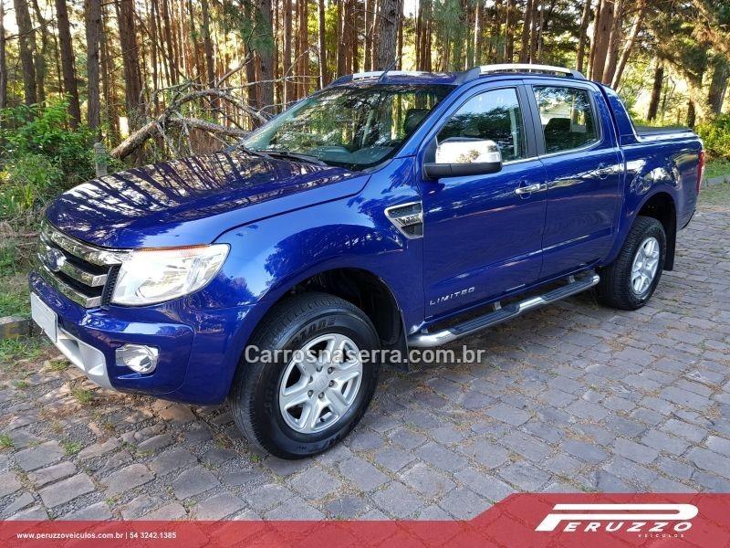 ranger 3.2 limited 4x4 cd 20v diesel 4p automatico 2014 nova prata